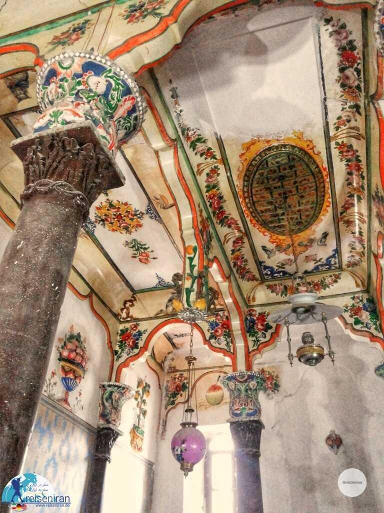 سقف کاخ باغچه جوق
