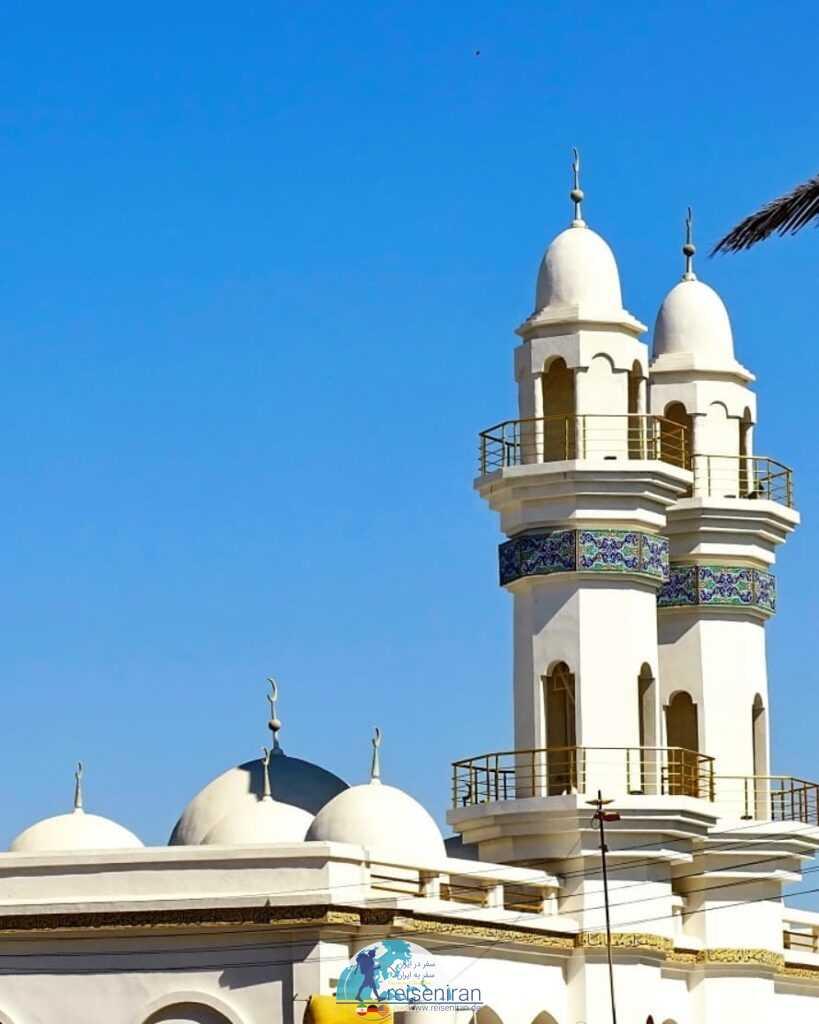 عکسی از مسجد گرگ بندرلنگه