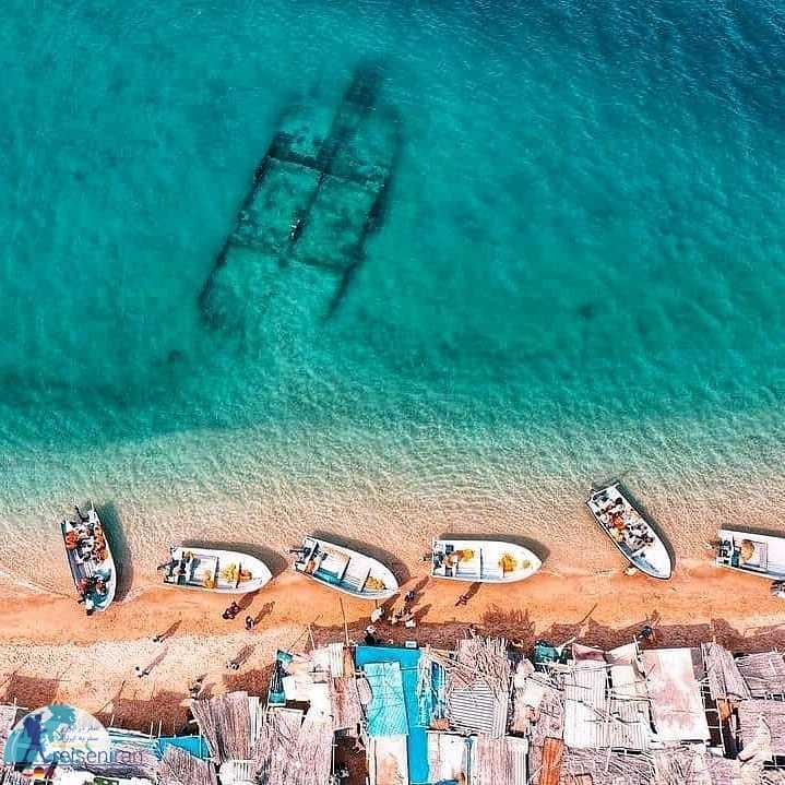 عکس بازارچه ساحلی هنگام