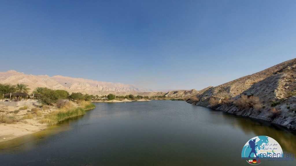 عکس دریاچه سد بستانو