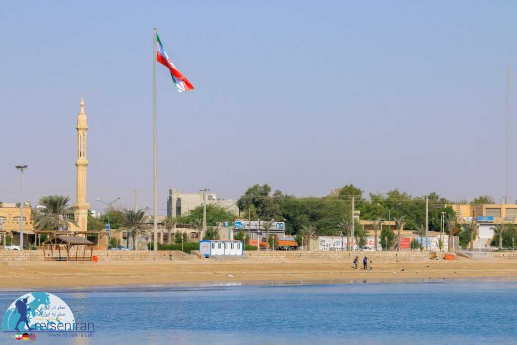عکس ساحل بندرلنگه