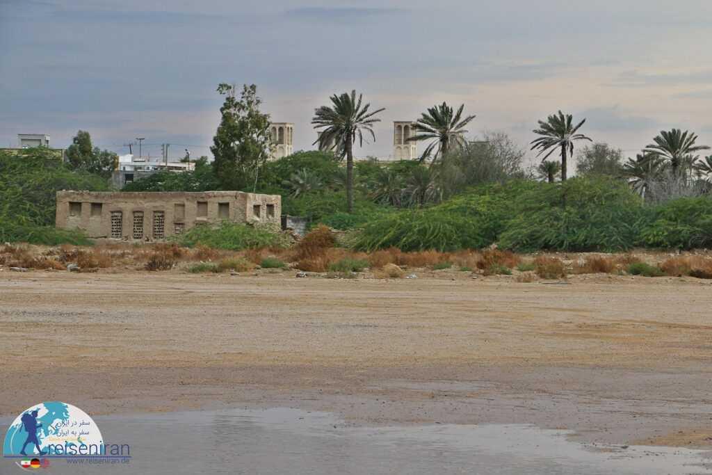 عکس ساحل لنگه