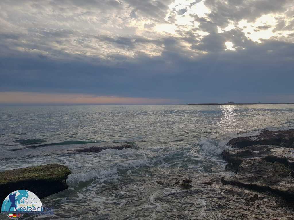 عکس ساحل صدف بندرلنگه