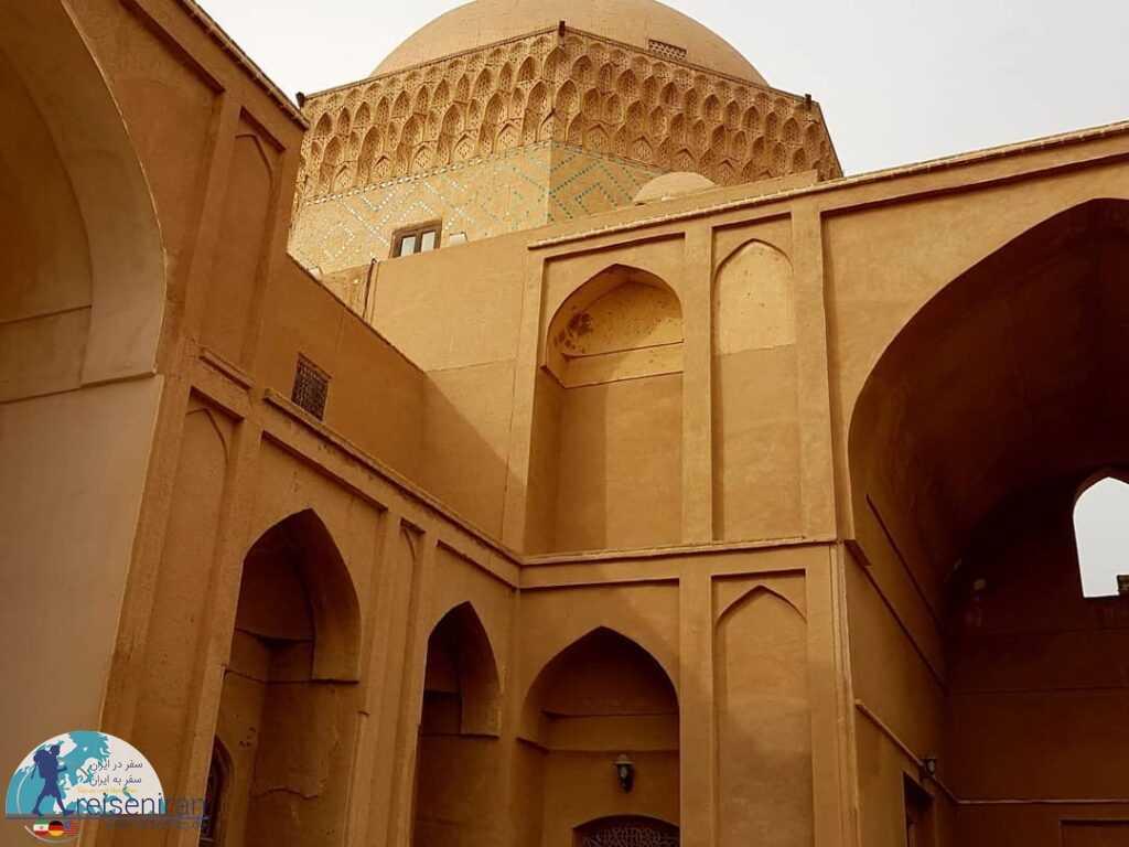 معماری زندان اسکندر یزد