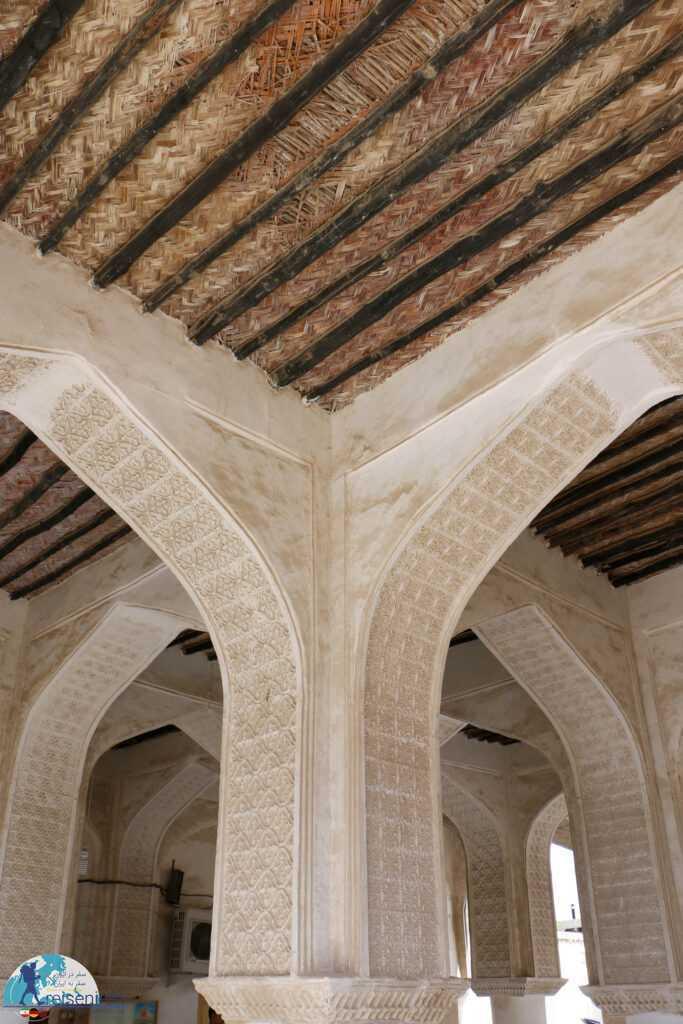نمای سقف داخلی مسجد افغان