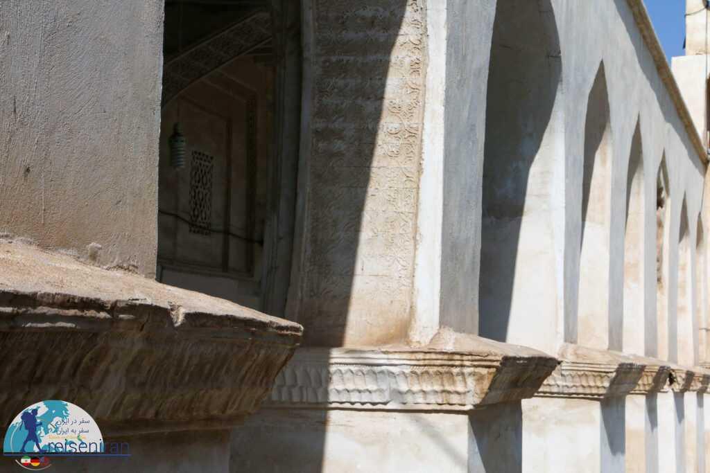 نمای مسجد افغان