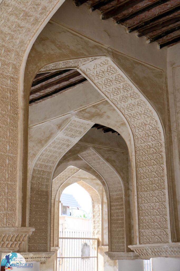 تزئینات مسجد افغان ها بندرلنگه