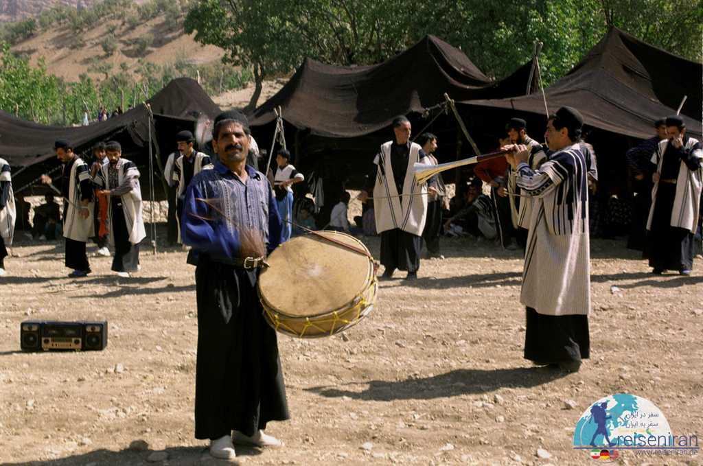 شادی و مراسم های بومی قوم بختیاری