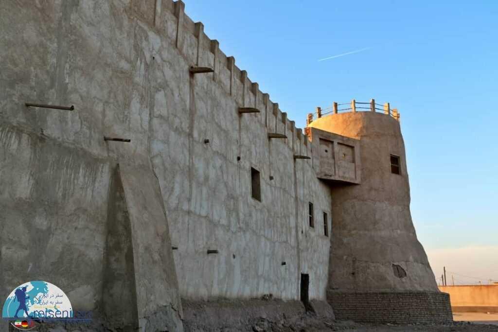 استحکامات قلعه شیخ سلطان مرزوقی