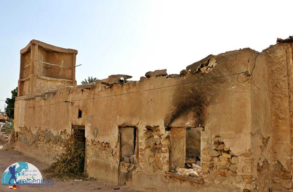 خانه های رها شده در بندرلنگه