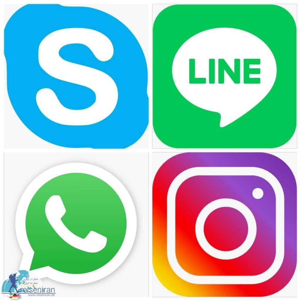 شبکه های اجتماعی جهانی در ایران