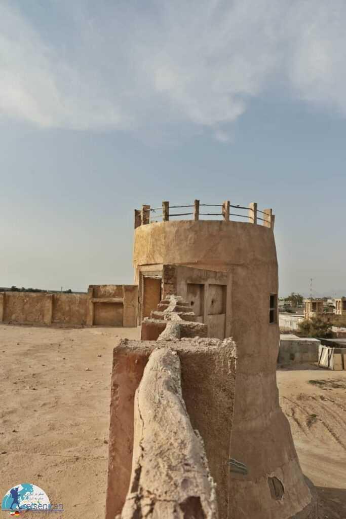 عکسی از قلعه المرزوقی مغویه