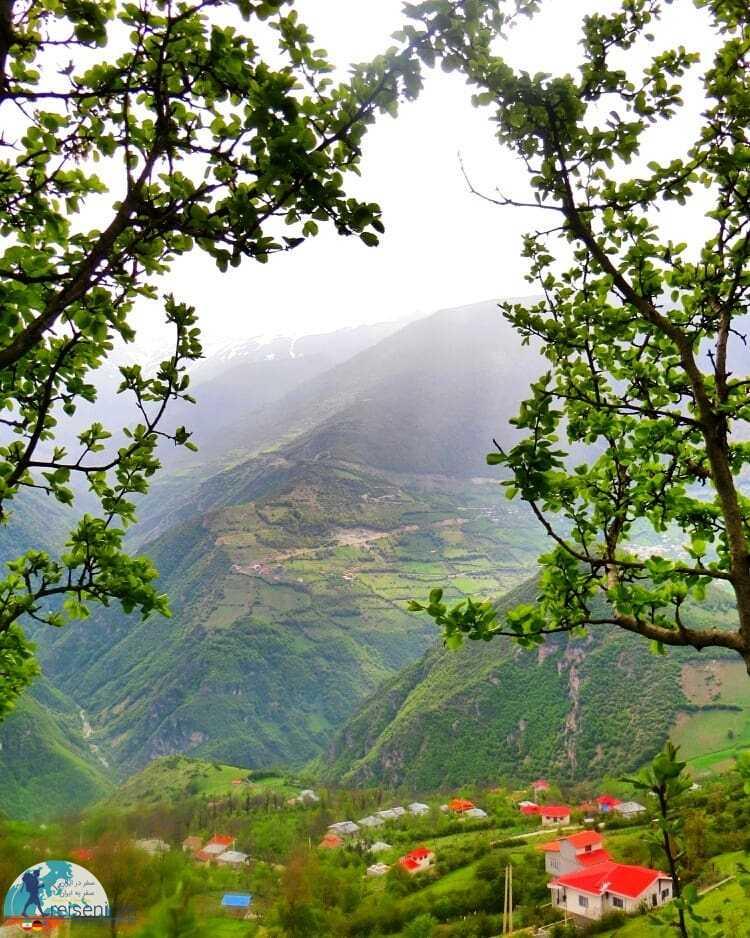 عکس روستا چاک