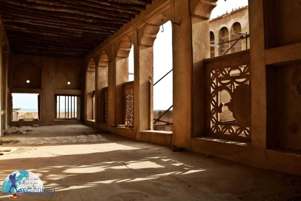 فضای قلعه المرزوقی مغویه بندر لنگه