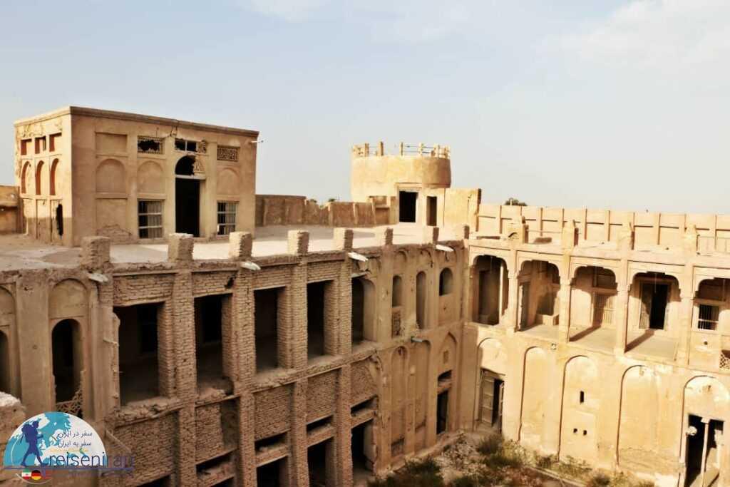 قلعه شیخ سلطان مرزوقی بندر مغویه هرمزگان