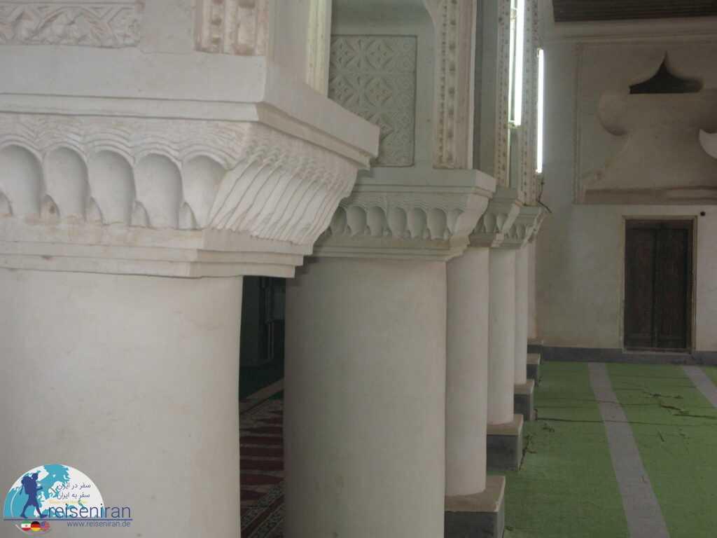 ستون های مسجد ملک بن عباس