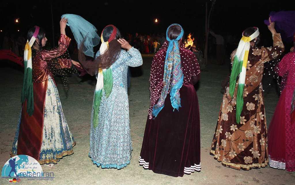 عکسی از مراسم عروسی اقوام قشقایی