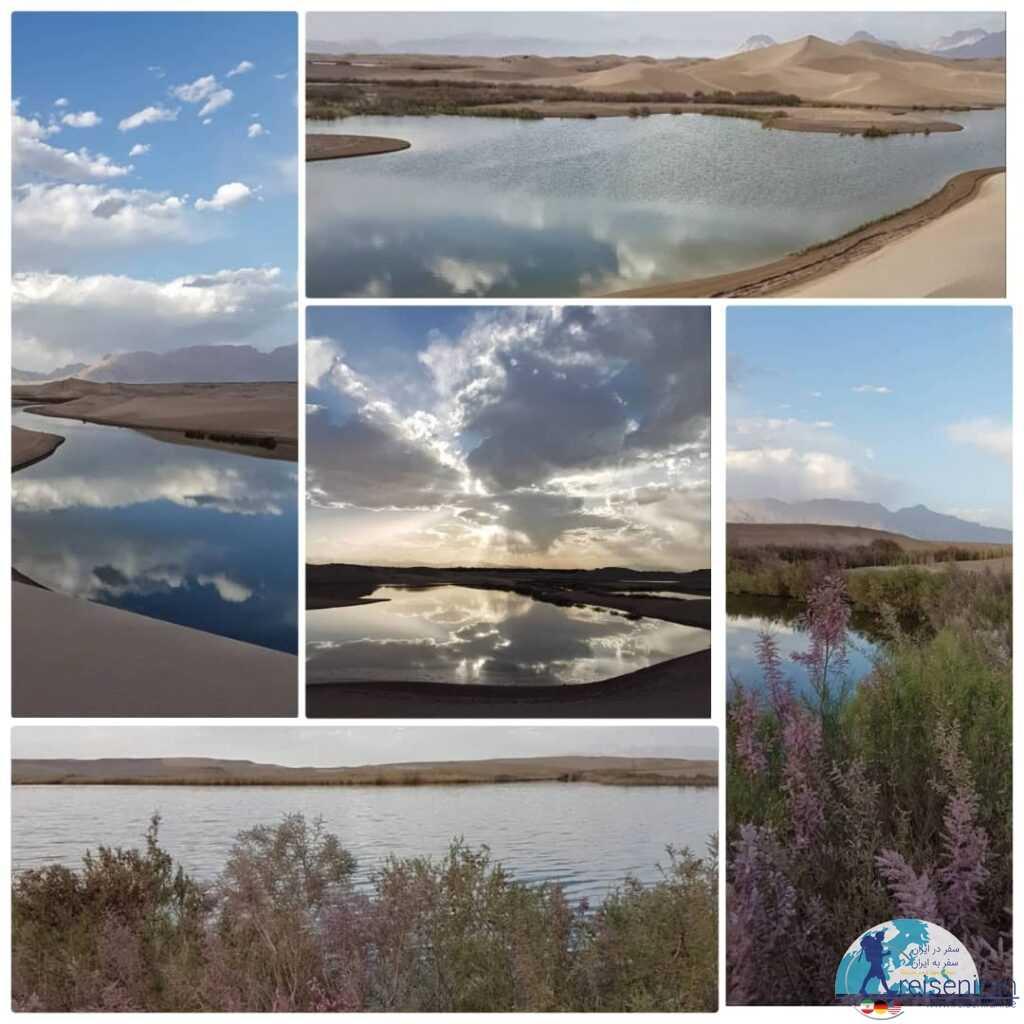 تالاب پساب یزد(دریاچه کویر یزد)