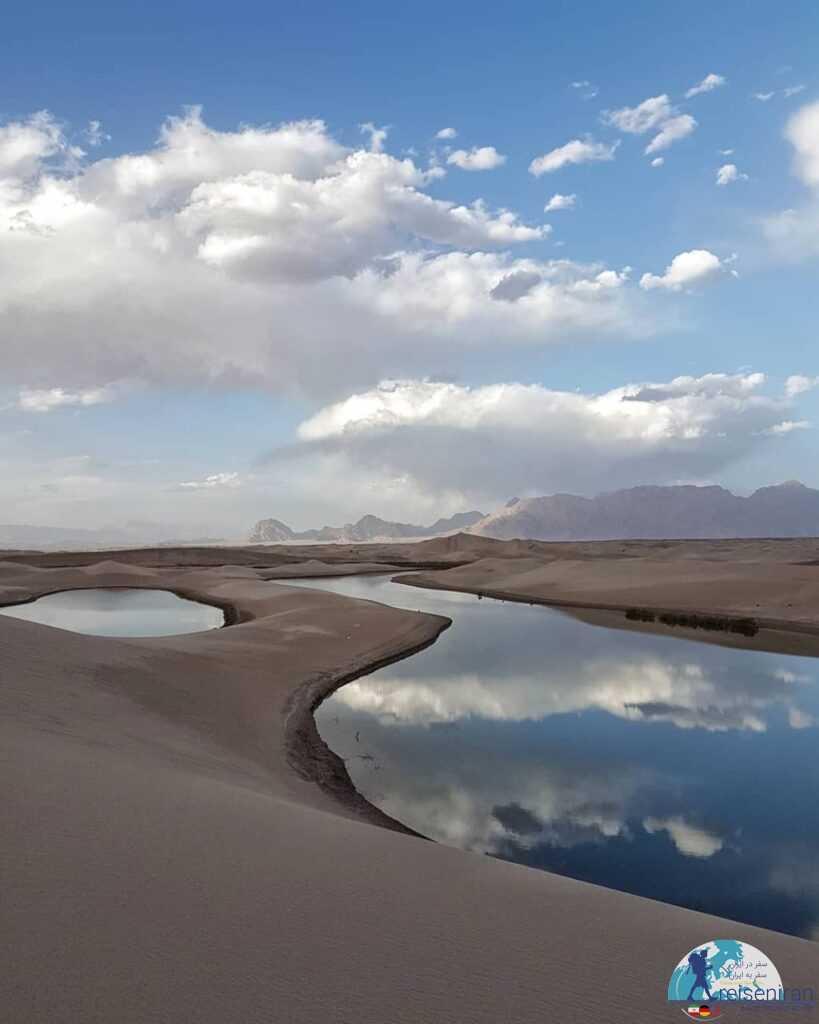 دریاچه کویر یزد
