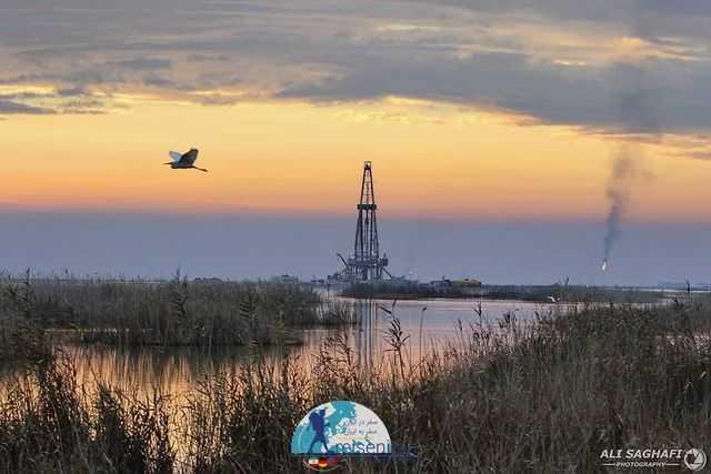 دکل نفتی خوزستان