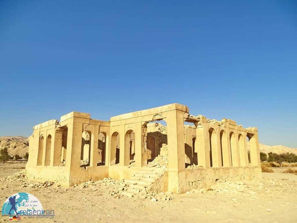 عکس قلعه فکری روستای پارو بندر لنگه