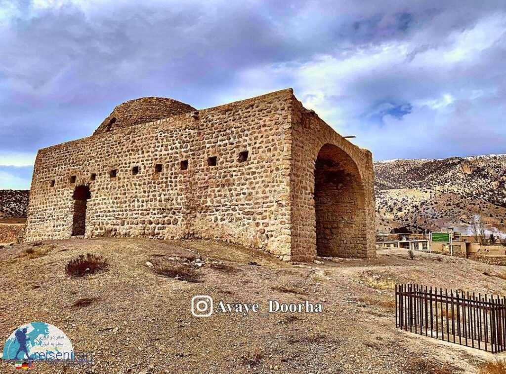 عکس معبد اسپاخو یا اتشکده