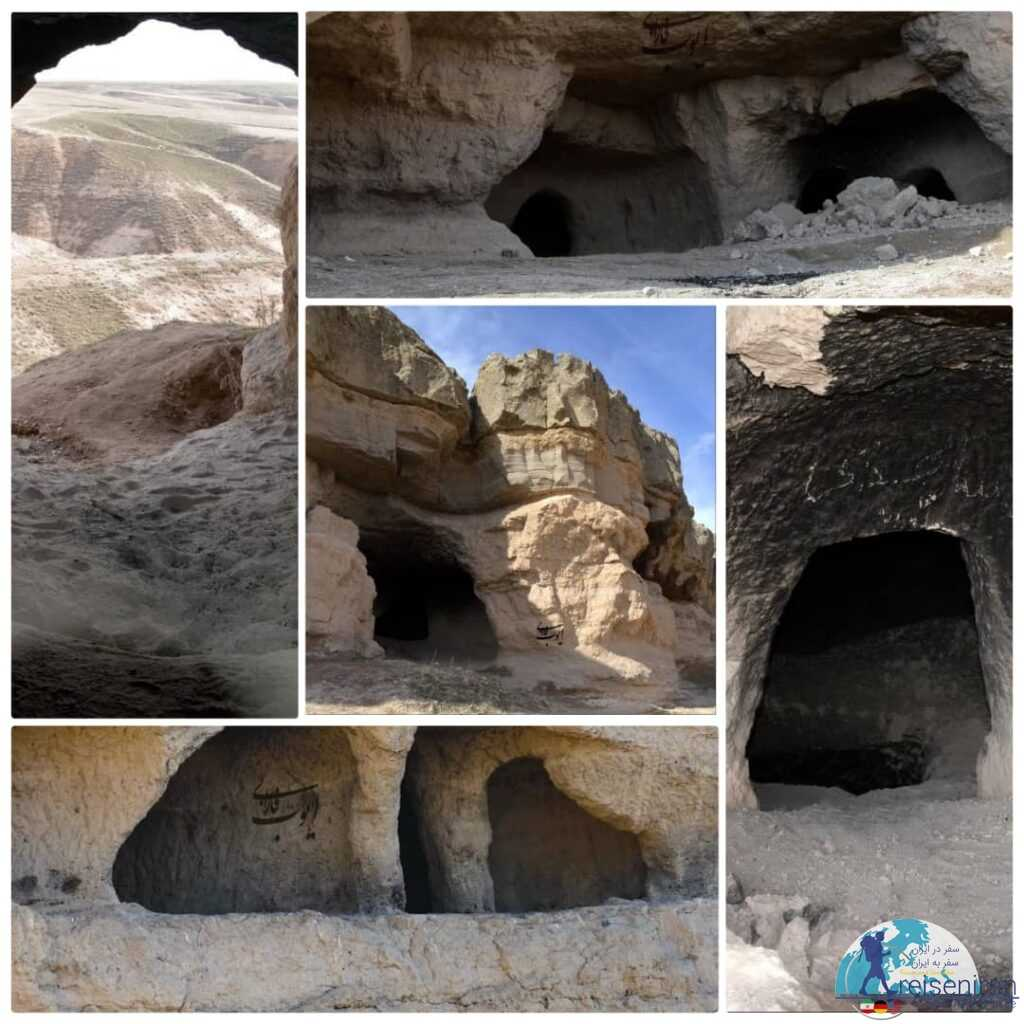 غارهای کهجوق مراغه(چهل غار یا قیرخ کوهول)