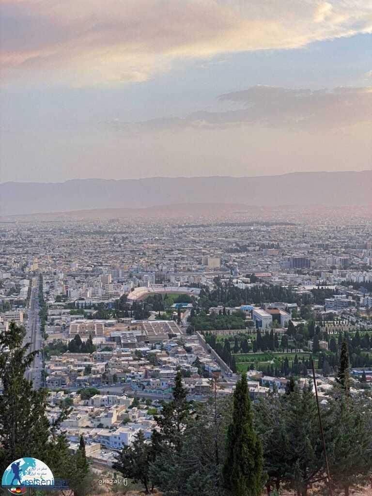 نمای شهر شیراز