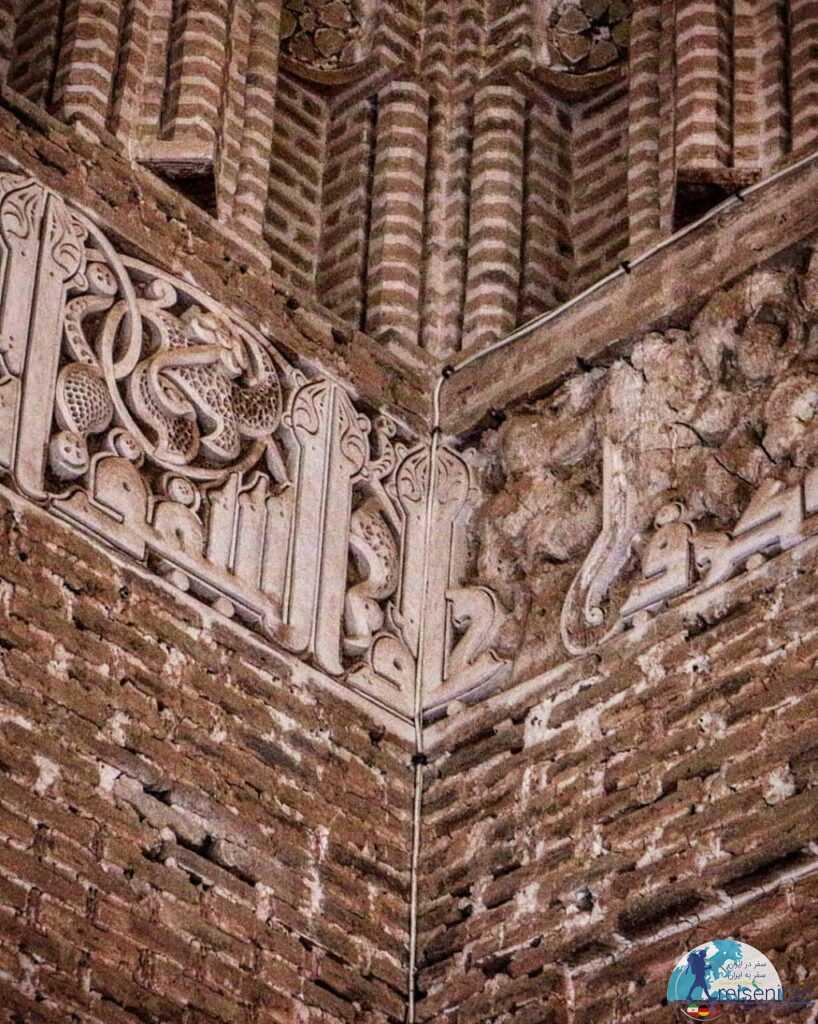 تزئینات زیبا مسجد جامع زواره