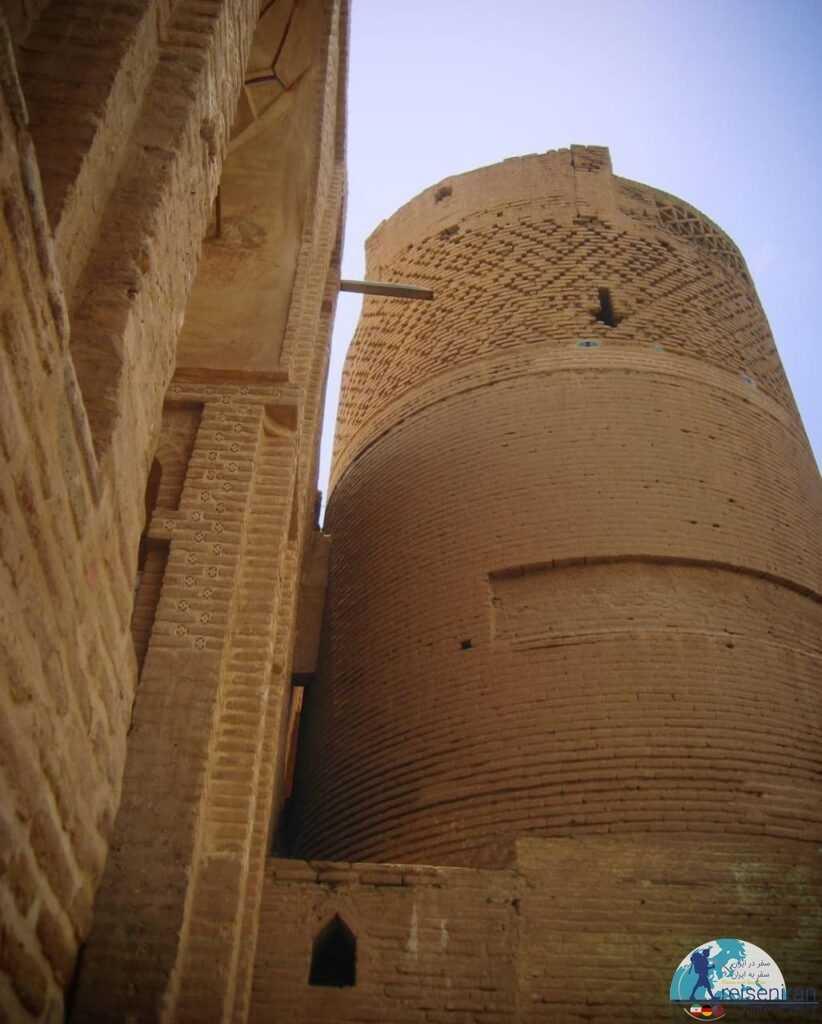 عکسی از مسجد جامع زواره