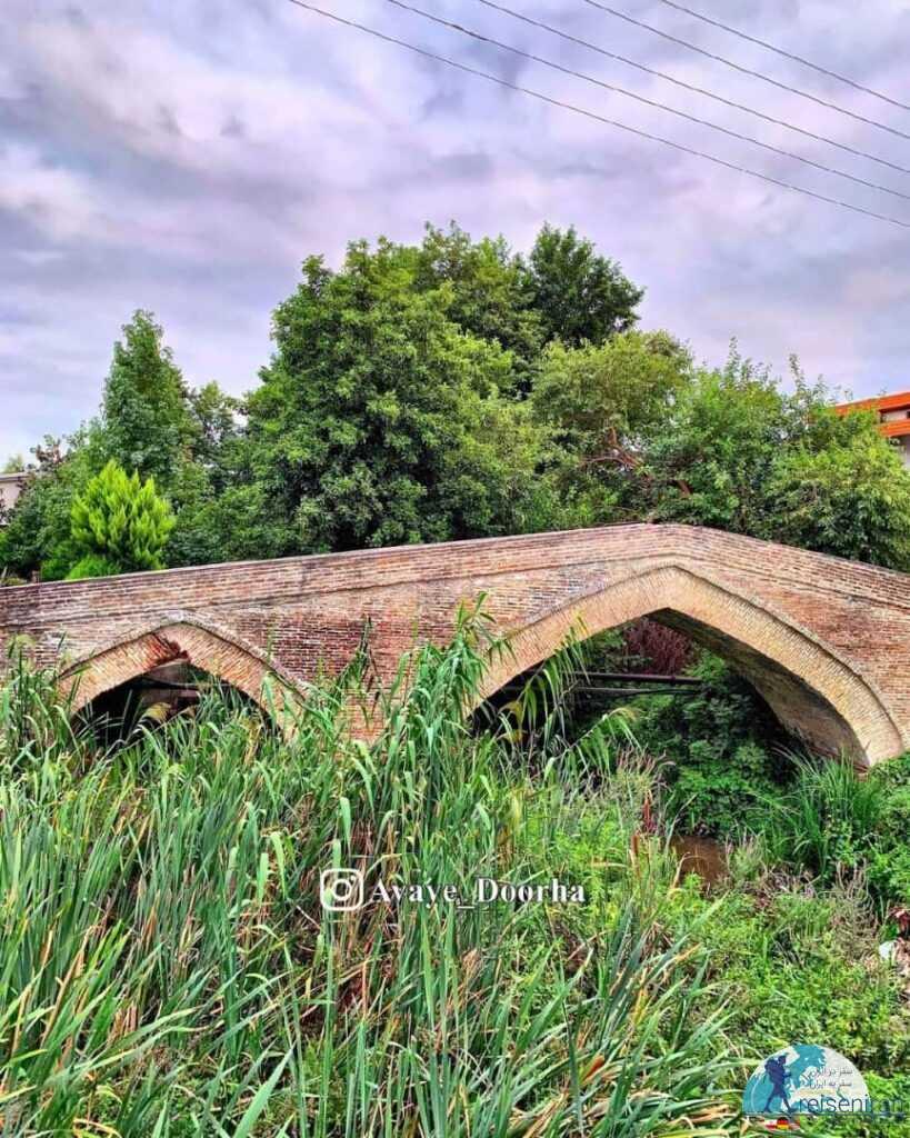 عکس پل تاریخی نور