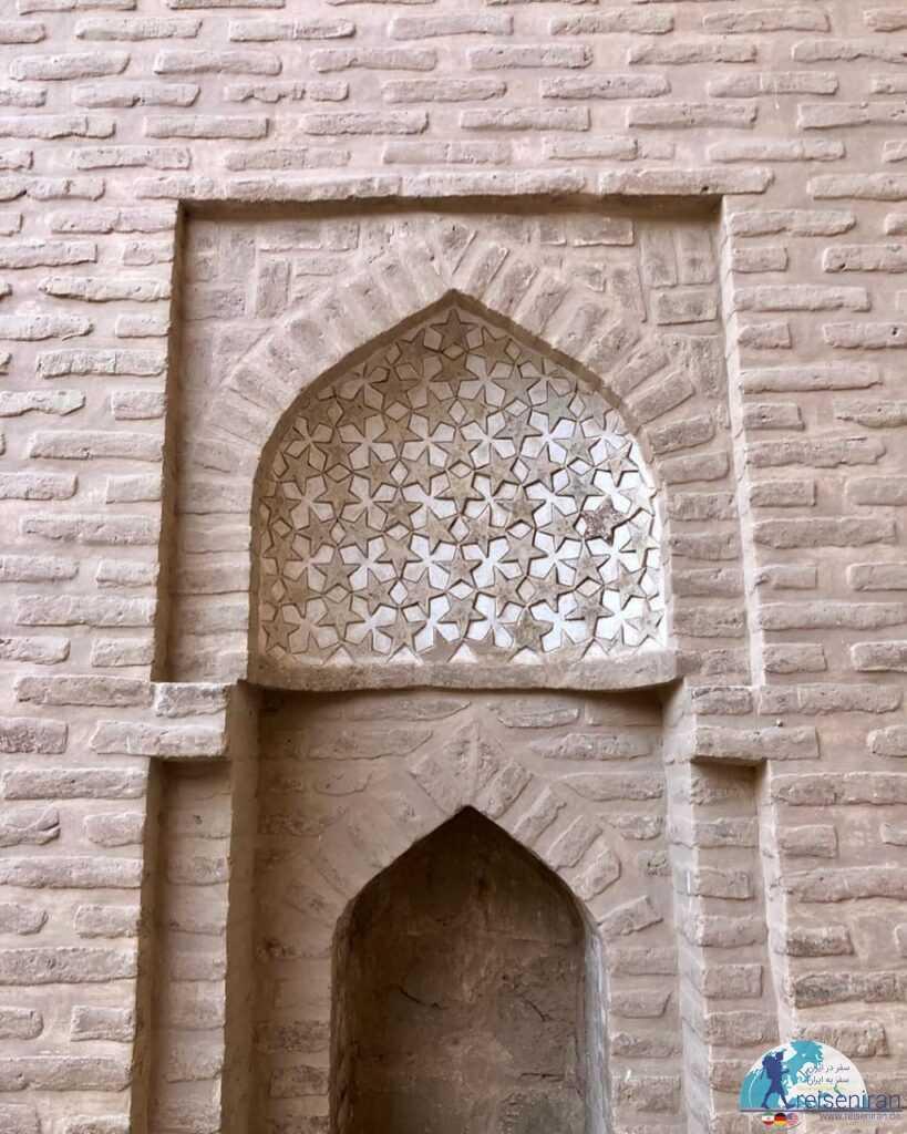 محرابی در مسجد جامع زواره