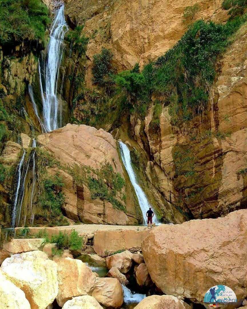 عکس آبشار نوژیان لرستان