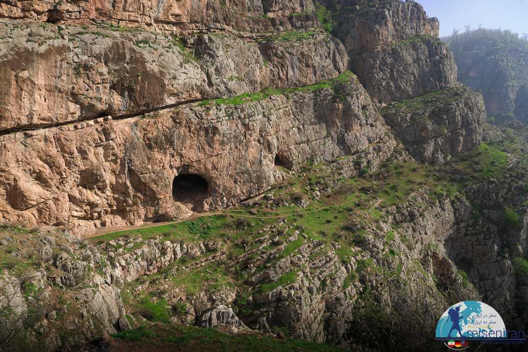 عکس غار دربند رشی رودبار