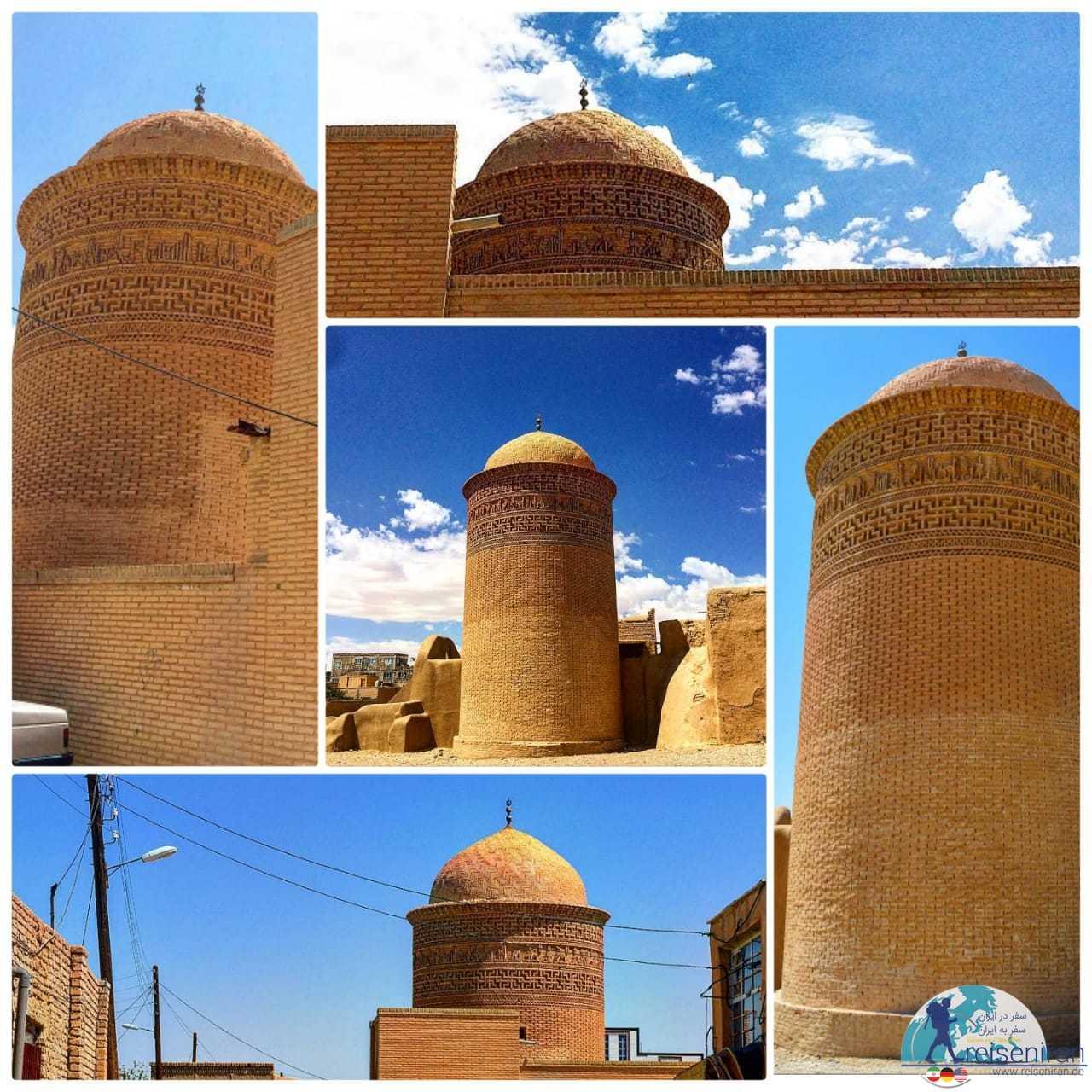 آرامگاه پیر علمدار دامغان(برج پیرعلمدار)