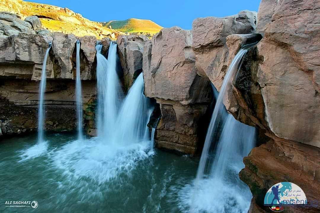 عکس آبشار آفرینه