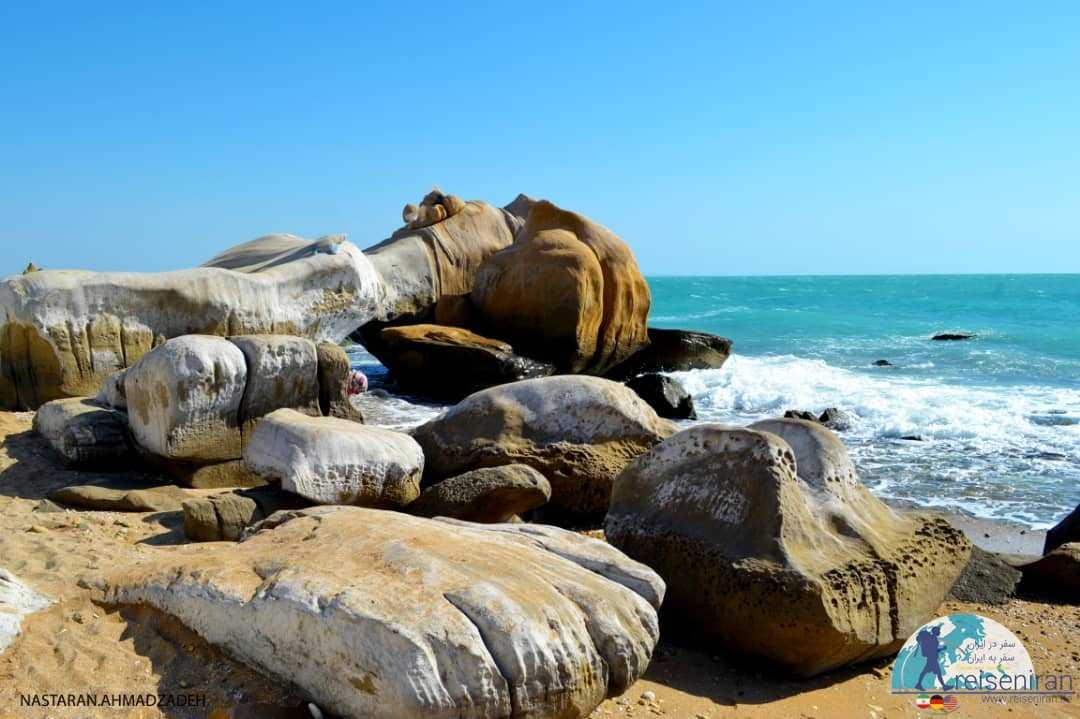 عکس ساحل مکسر بندر مقام